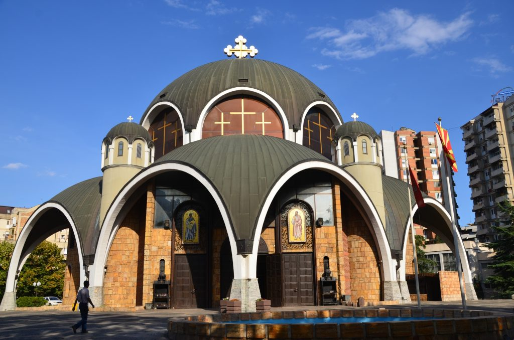 Видео со чуден обичај во Христијански Храм